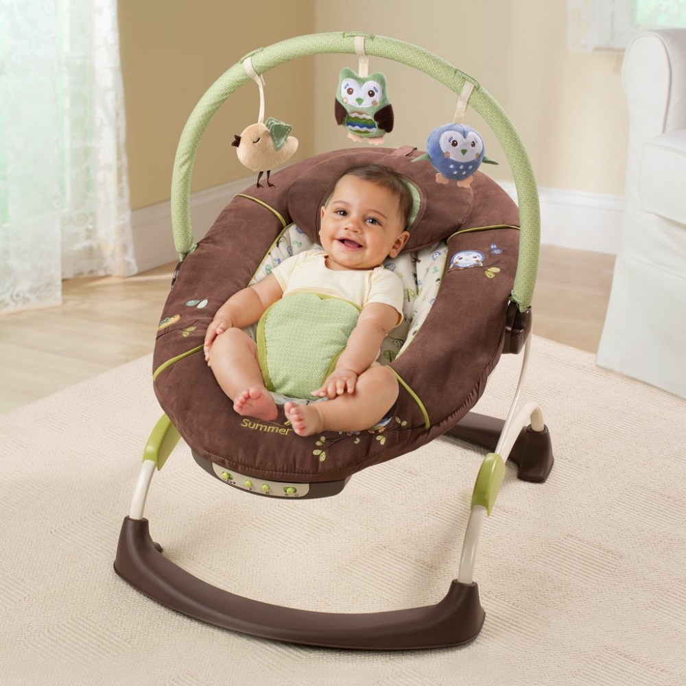 Summer Infant Carters Wildlife Bouncer Bouncers And